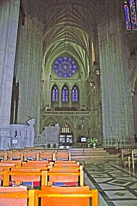 The South Transept of The National Cathedral