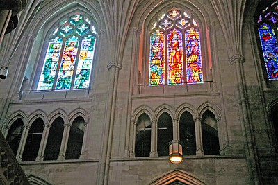 Stain Glass Windows in the National Cathedral