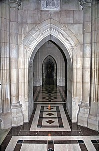 Sided Aisle of the National Cathedral