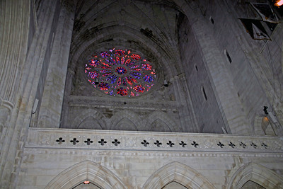 Rose window in the National Cathedral