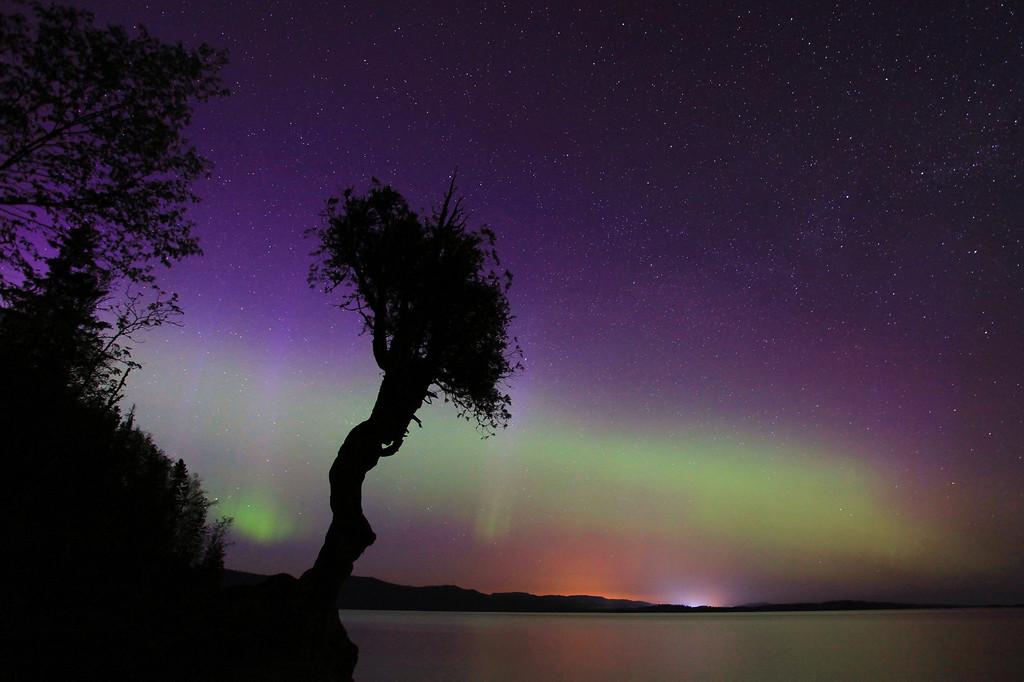 """AURORA 0713<br /> <br /> """"Northern Lights - June 4, 2011"""""""
