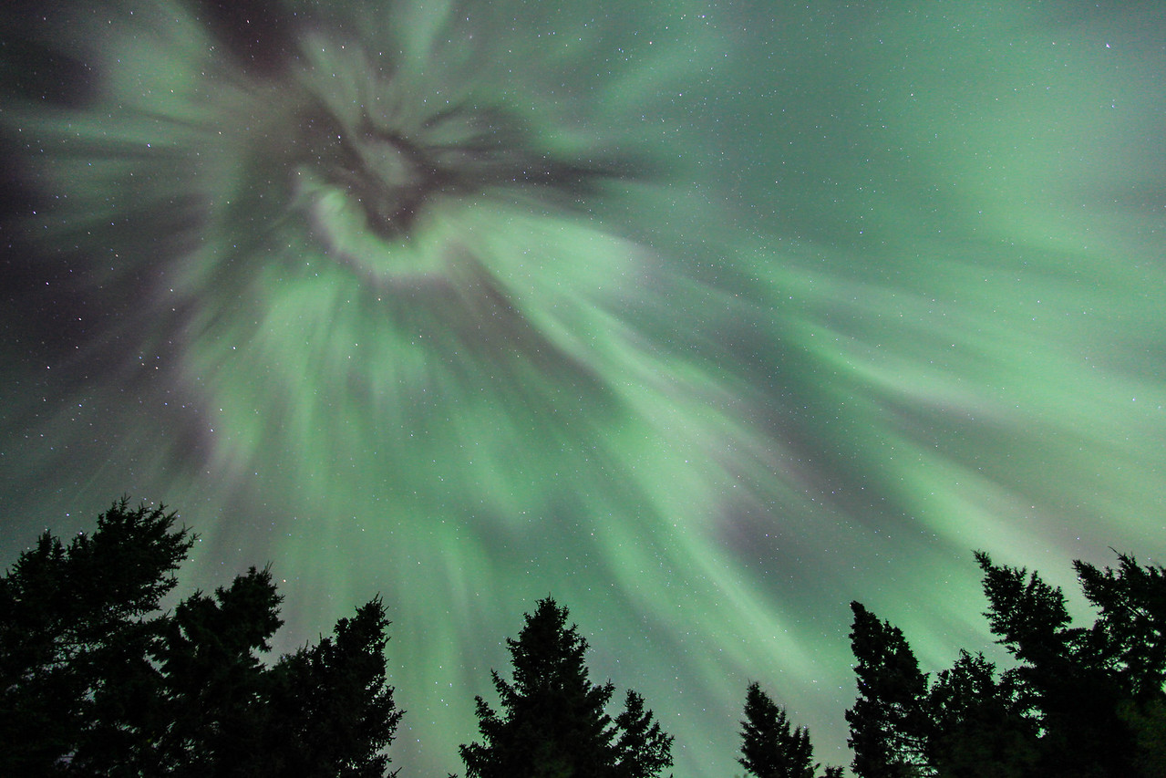 "AURORA 1750  ""The Eye of the Storm""  Northern Lights on October 2, 2013"