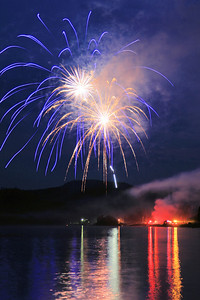 "FIREWORKS 0594  ""Grand Portage Fireworks - July 4, 2012"""
