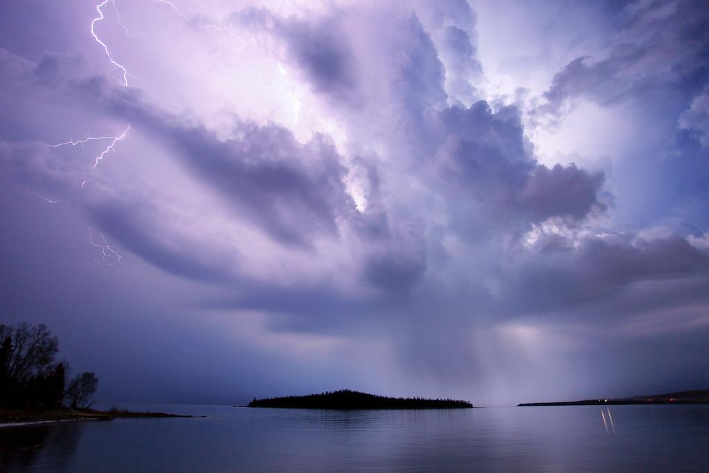 "LIGHTNING 5423<br /> <br /> ""First Thunderstorm of 2012""<br /> <br /> March 17, 2012"