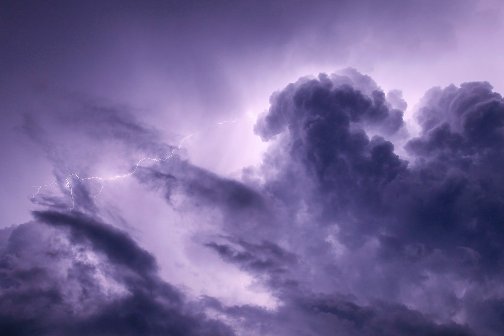 """LIGHTNING 1728<br /> <br /> """"Chaos in the Sky"""""""