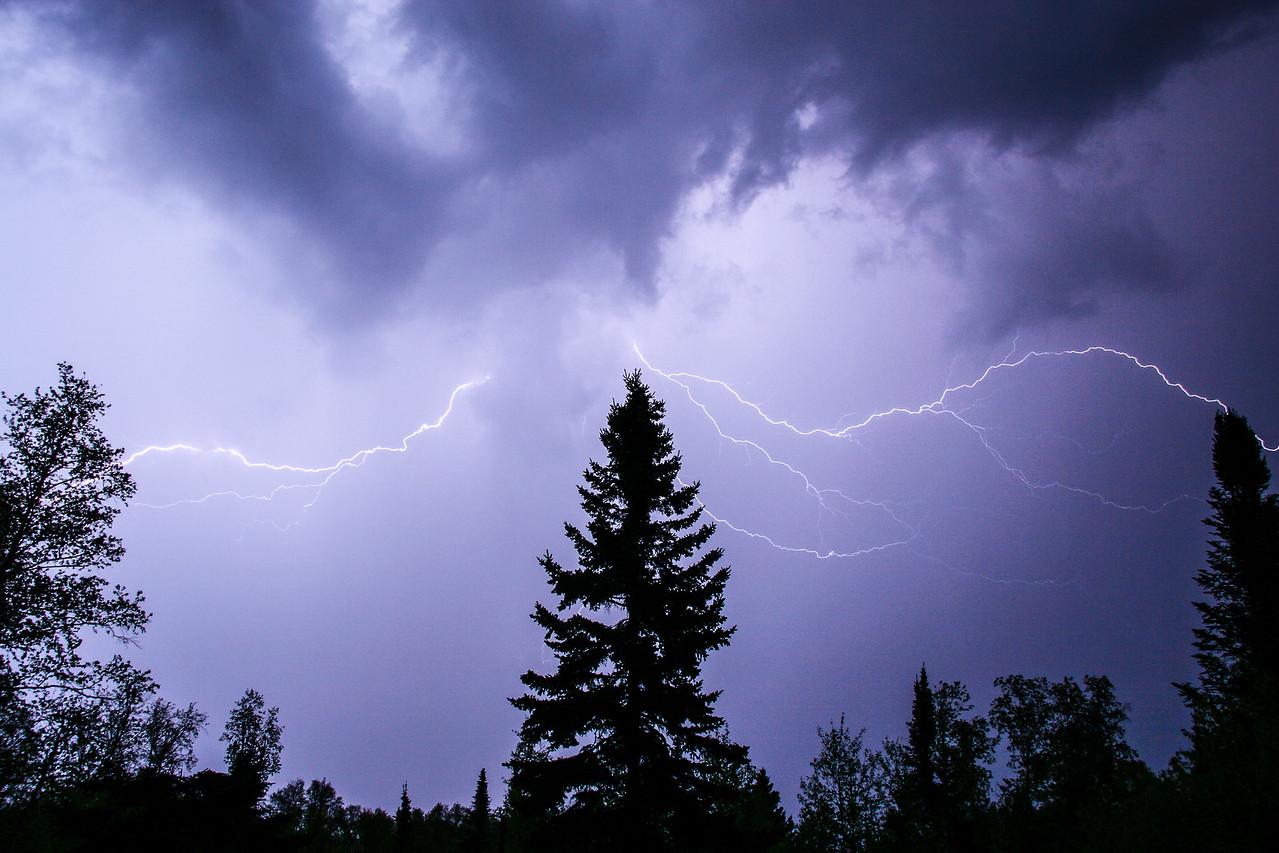 """LIGHTNING 3915<br /> <br /> """"Electric Sky"""""""