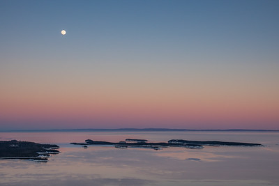 """February Moon over the Susie Islands"""
