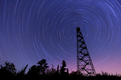 "STAR TRAILS 1973  ""Passing Time on Mt. Maude""  96 minute exposure taken on September 3, 2011."