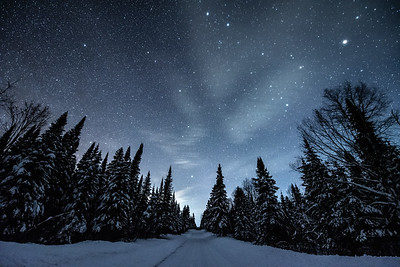 """Night Sky over the Old Highway"""