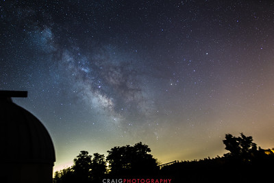 Howell Mountain Milky Way Angwin CA