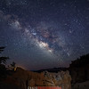 Bryce Canyon Natural Bridge Milky Way Utah 3