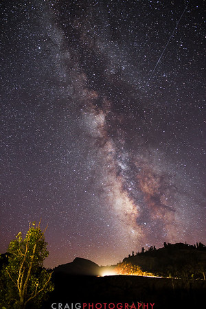 Milky Way over Carson Pass California