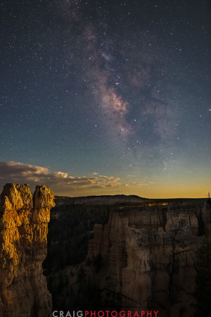Milky Way over Bryce Canyon Utah 2