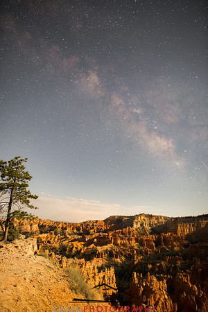 Milky Way over Bryce Canyon Utah 1