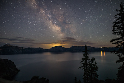 Crater Lake Oregon Milky Way 1