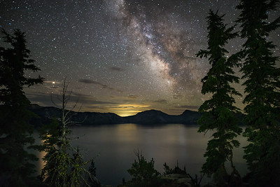 Crater Lake Oregon Milky Way 3