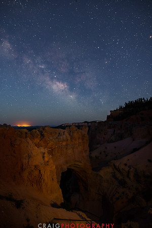 Milky Way over Bryce Canyon Utah 3