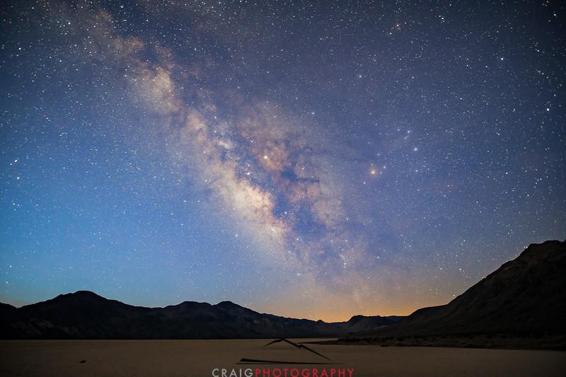 Milky Way over Death Valley 2