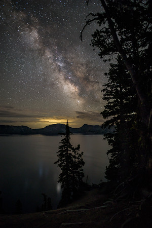 Crater Lake Oregon Milky Way 2