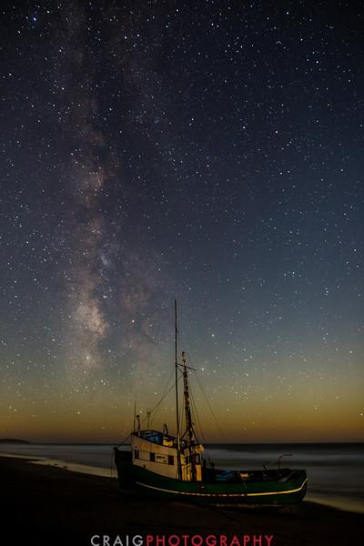 Shipwreck and stars #3