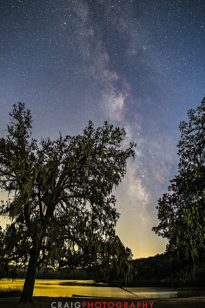 Night time and milky way over Napa County CA 4