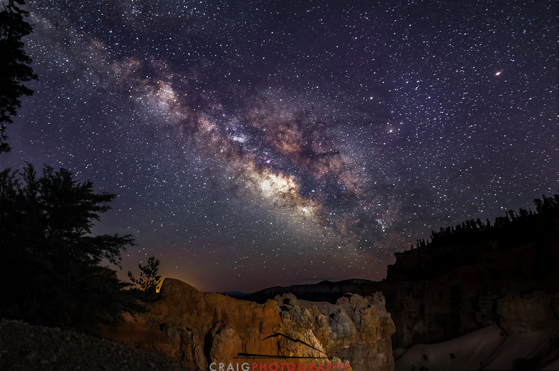 Milky Way over Bryce Canyon Utah 6