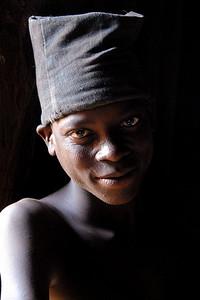 Antoine's tribal scars...regional silver winner and silver winner system-wide 2011