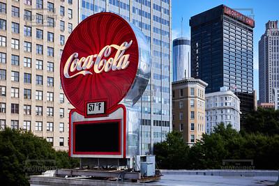 Coca Cola Sign - Atlanta GA
