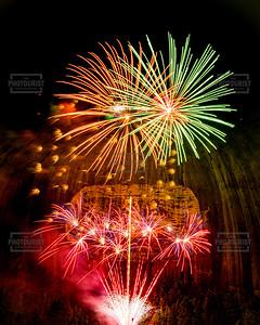Stone Mountain Park Fireworks - Atlanta GA