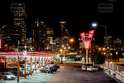 The Varsity at Night - Atlanta GA