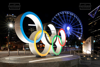 Olympic Rings - The Spectacular at Centennial Park Atlanta