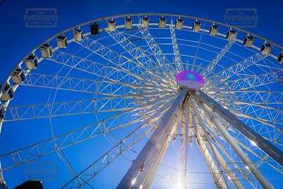 Skyview Atlanta Ferris Wheel Centennial Park