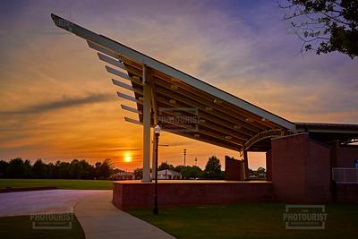 Lady A Pavilion Sunset - Evans GA
