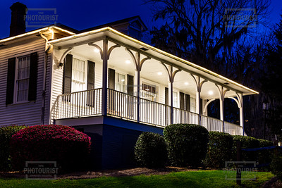 Columbia County Visitors Center at Night - Savannah Rapids Park GA