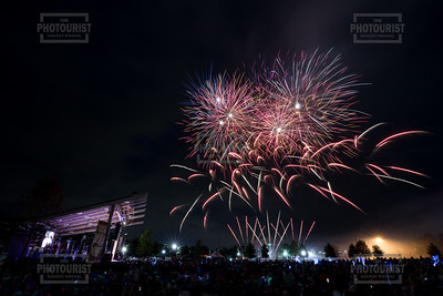 Fireworks at Evans Towne Center Park - Columbia County GA