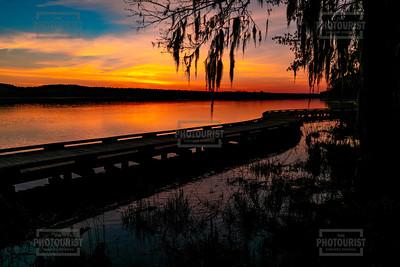 Savannah River Sunrise at River Island in Columbia County GA