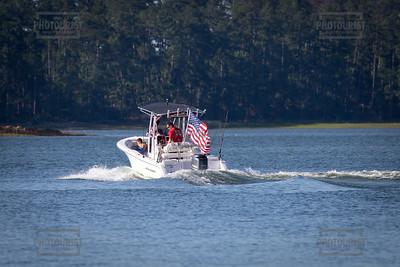 Boat in Wildwood Park in Columbia County GA