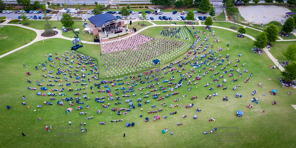 Lakeside High Class of 2020 - Graduation Aerial View