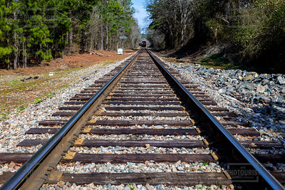 Train Tracks in Columbia County GA