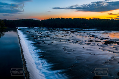 Savannah River Rapids Sunrise in Columbia County - Augusta GA