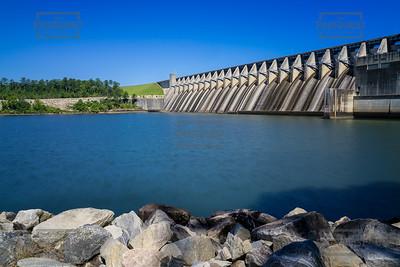 Lake Strom Thurmond Dam - Augusta GA