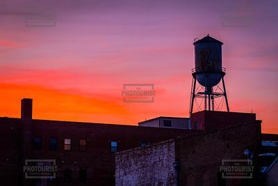 Downtown Augusta GA Sunset