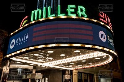 Miller Theater at Night - Augusta GA