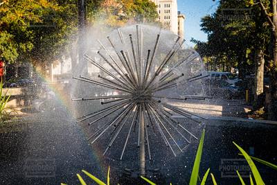 Downtown Augusta GA Fountain