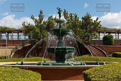 Augusta Riverwalk Fountain GA