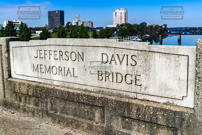 Jefferson Davis Memorial Bridge - Augusta GA