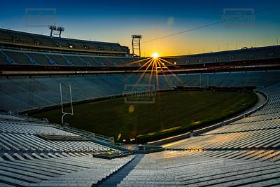 Sanford Stadium University of Georgia Sunrise - Athens GA