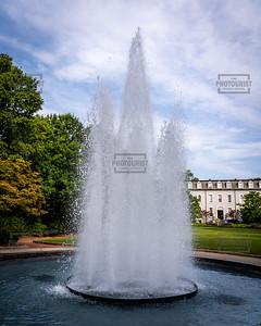 Herty Field Fountain University of Georgia - Athens GA