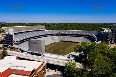 Sanford Stadium University of Georgia Aerial View - Athens GA