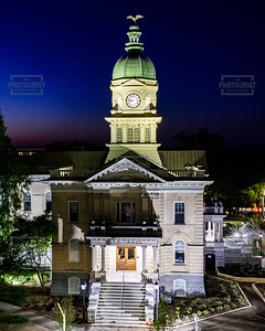 City Hall at Dusk - Athens GA